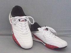 LARKINS(ラーキンス) カジュアルスニーカー 6236 27.0cm 白/赤