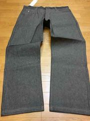 LA直輸入  ROCAWEAR  ストレートデニム  黒グレー size W42 112cm