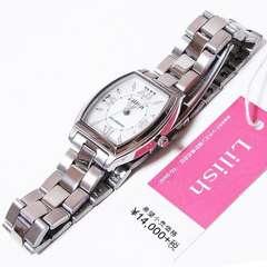 シチズン リリッシュ レディース腕時計 H041-900 ソーラー電源
