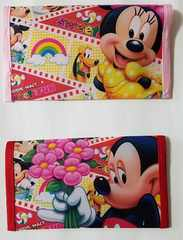 特価 M3 ミッキーマウス マスク入れ 2枚set(^^)ハンドメイド通帳入れ