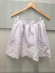 LIZ LISA花刺繍スカート