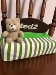 ted2*ベッド型ティッシュBOXカバー♪