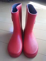 赤長靴20cm