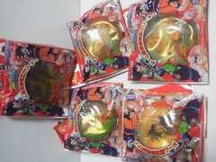 ドラゴンボール改ドーム型携帯電話クリーナーストラップ5種類まとめ売り