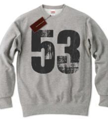 新品sale!J&M新作『53』スウェット!