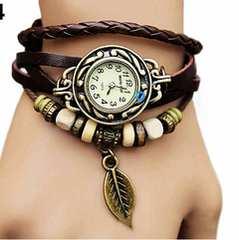 大人気  アンティーク風 クォーツ ブレスレット 腕時計