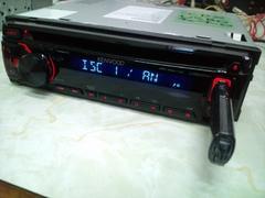 ケンウッド U383RH CD/USB/フロントAUXチューナー WAV再生 訳あり