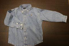 ラルフ ダンガリーシャツ size:3T