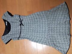 ★R・F★超カワ★ツイードリボン付ワンピ★