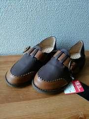 新品タグ付ペタンコ靴18�p