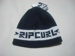 rc140 男 RIP CURL リップカール ニット帽 ビーニー 紺