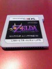 3DS[ゼルダの伝説ムジュラの仮面3D]ソフトのみ・動作確認済み