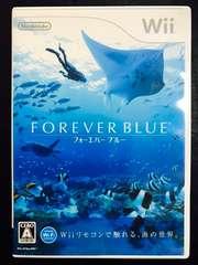 フォーエバーブルー 美品 Wii FOREVER BLUE