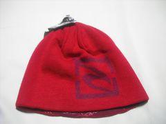 mb742 男 RIP CURLリップカール リバーシブル ニット帽 赤