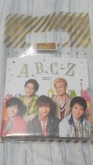 必見未開封新品ABC-Z 2018 ジャニーズ伝説レコードメモ顔写真入リ