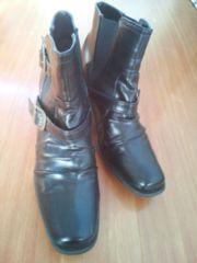 3L  黒ベルト付き ショートブーツ 中古品