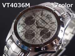 【送料無料】日本製ムーブメントVITAROSOメンズ腕時計WH