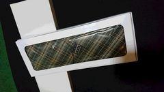 新品  LEXINGTON CLUB  100%シルク 絹  日本製 チェック柄ネクタイ