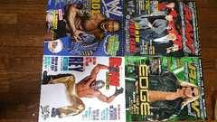 WWEマガジン日本語版&週刊ゴングまとめ売り7冊雑誌/ブロックレスナーオースチン