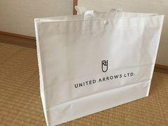 UNITED ARROWS ショッピングバッグ ショッパー(大)