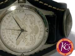 超レア 1スタ★KC'S ケーシーズ【インディアンコイン】腕時計