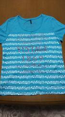 LLサイズ  美品  半袖tシャツ   ターコイズ