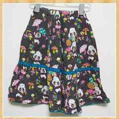GRaND GROUND グラグラ スカート 7 130-135 グランドスラム 子供服 女の子