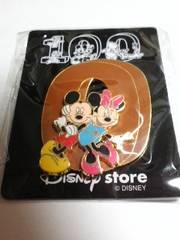 ミッキーマウス&ミニーマウス ピンバッチ 100 ディズニー