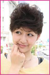 Wigs2you★HHB-047★人毛ミックス★ショートウィッグ★カール