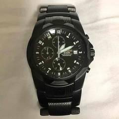 美品 ニクソン NIXON 腕時計 クロノグラフ ブラック 正規品