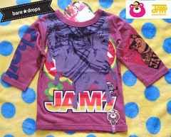 新品【JAMジャム】120cmストールギミック7分Tシャツ¥2730