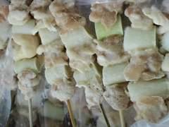 ☆ 炭火焼き鳥(ねぎ間串)30g×50本  冷凍
