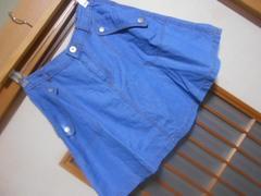 100スタ*オンザカウチデニムスカート★クリックポスト164円