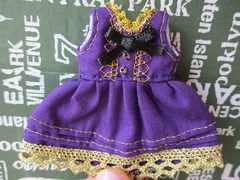オビツ11サイズ シングル ドレス ワンピース ハンドメイド