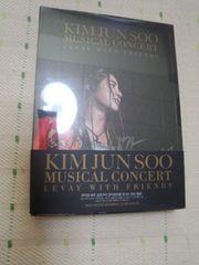 キム・ジュンスミュージカルコンサートLEVAY WITH FRIENDSDVD2枚組
