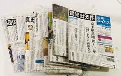 沖縄タイムス安室奈美恵関連10紙6-7月定形外郵便配送可能