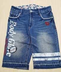 デザインが可愛い★お洒落半パンツ★ジーンズ★86cm