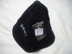 wn05 女 BILLABONG ビラボン 黒 ウールニット ハット Lサイズ