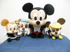 ディズニー ミッキー&ミニー ぬいぐるみセット (25)