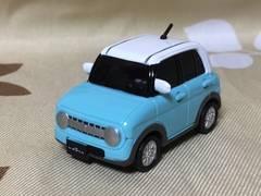 スズキ軽デフォルメ自動車/ガチャ/海洋堂/ラパン(HE33S型)