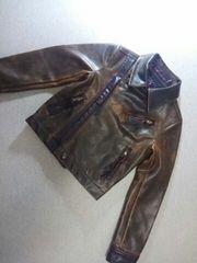 ● RONI ●  フェイクレザージャケット SM120位  美品