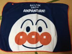 ☆非売品☆アンパンマン☆フリースポンチョ☆