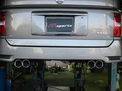 国内生産 低価格良質マフラー 左右デュアル E51エルグランド ハイウェイスターもOK
