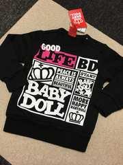 新品 BABY DOLL トレーナー 80