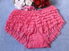 """◆""""□.PinkyAngel^-^可愛い段々レース♪アンスコ風パンツ.□""""◆"""