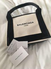 バレンシアガ ロゴバッグ XS ホワイト