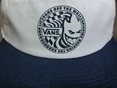 バンズ【VANS】 x スピットファイヤー【SPITFIRE】コラボCAP