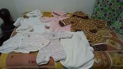 (ジ)baby・モコモコ衣類まとめ売り・5着50〜80�p