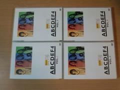 DVD「F4バラエティ ABCDEF4」台湾アイドル 4枚組●