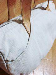 ツモリチサト/tsumori chisato ケミカルデニム革トートバッグ